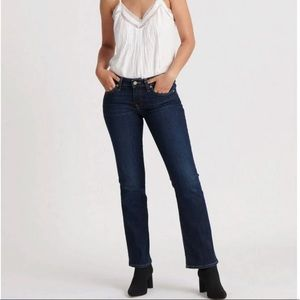 Lucky Brand Low Rise Lolita Boot Jeans